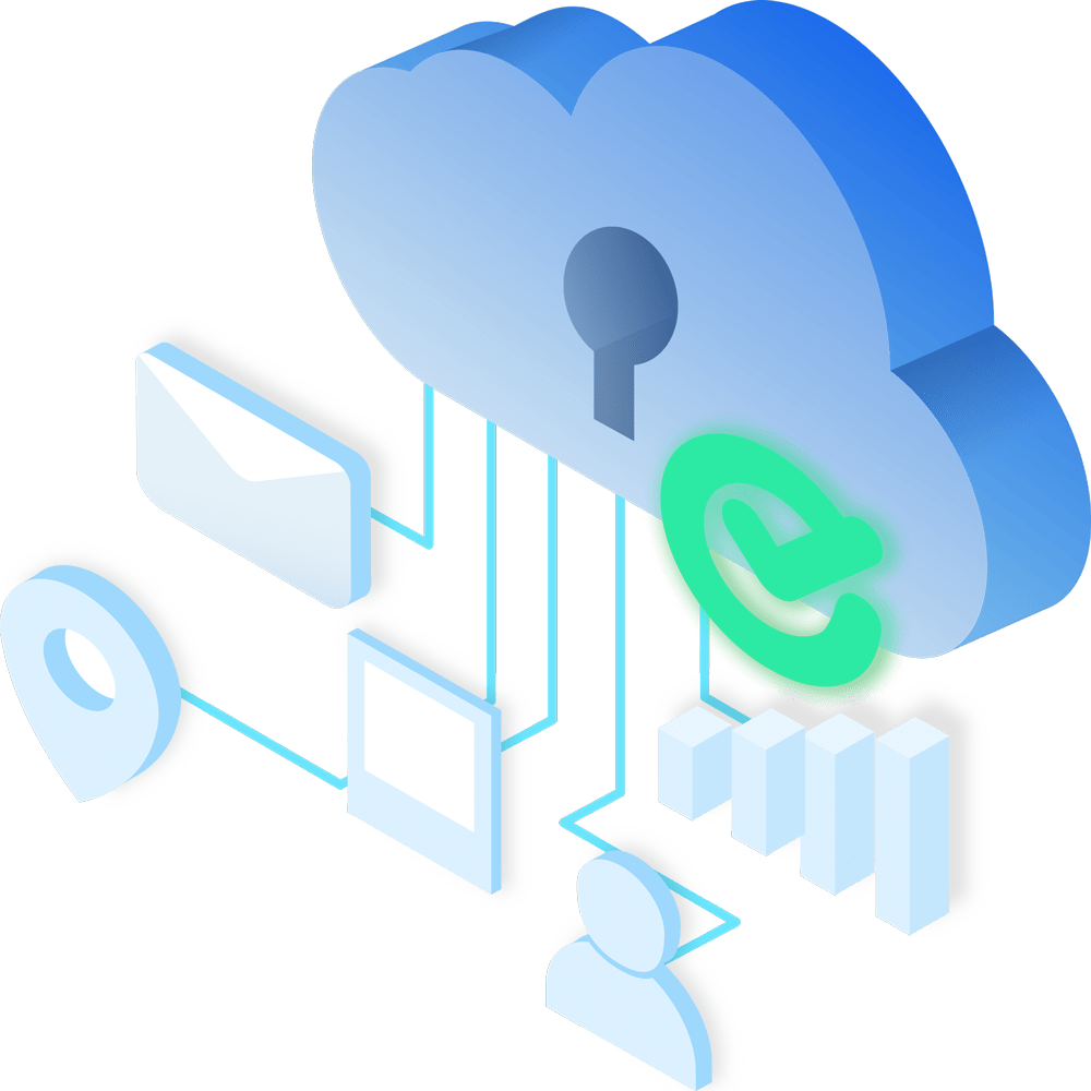 Cloud Integration Illustration